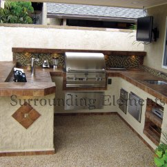 Bbq Kitchen Cheap Utensils Barbecue Islands By Surrounding Elements Custom Outdoor And Island Grills Accessories Fire Magic Alfresco Lennox Majestic