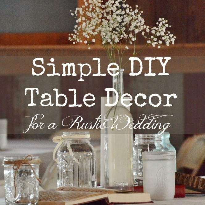Decoration Gorgeous Diy Table Decorations Idea For Wedding Created With Beautiful White And Red