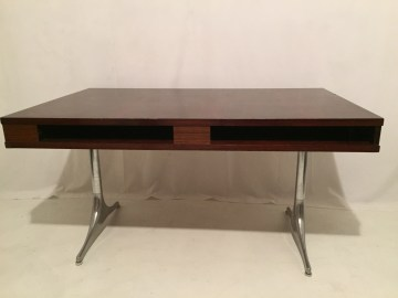Vintage Rio Rosewood Desk by George Nelson for Herman Miller