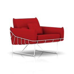 Wireframe Club Chair by Herman Miller