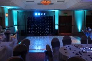 Mobile Dj with Led Dancefloor in West Midlands