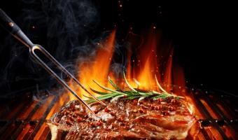 churrasco, carne de res, filete de churrasco, churrasco a las brasas,