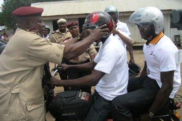 Free Distribution Of Motorcycle Helmet