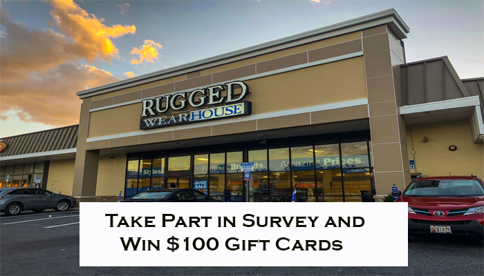 Rugged Wearhouse Survey