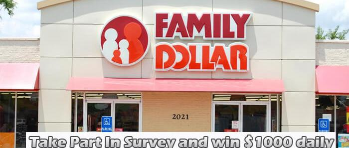 Family Dollar Survey
