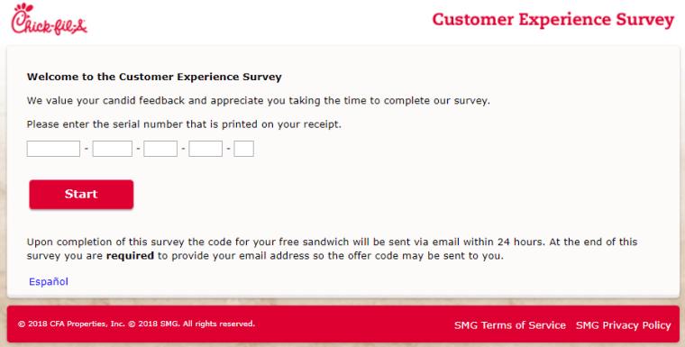 mycfavisit survey