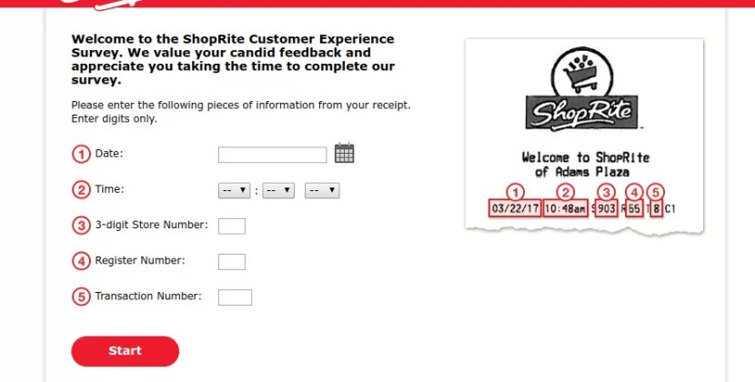 www.myshopriteexperience.com – Take Shoprite Survey To Win $500 Gift Card