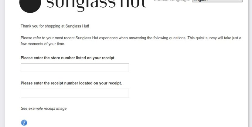 www.sunglasshutfeedback.com – Complet Sunglass Hut Customer Survey
