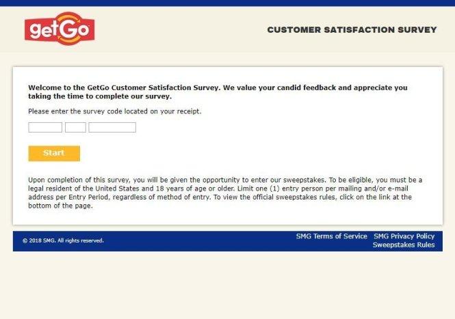GetGo Customer Satisfaction Survey
