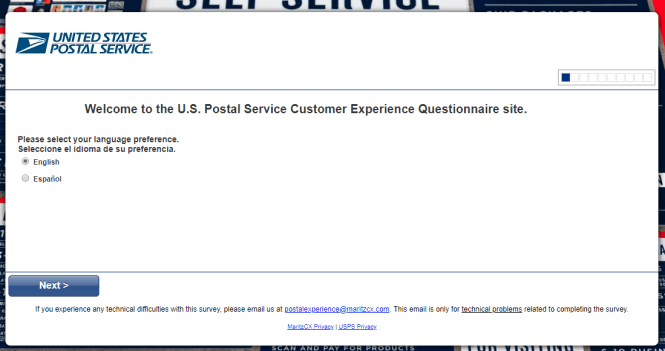 U.S. Postal Service Customer Experience Survey
