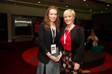 Angela Power and Cliona Fagan from Lansdowne Partnership