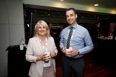 Deirdre Duffy from Smart Property and Michael Dunne from Gannon Homes