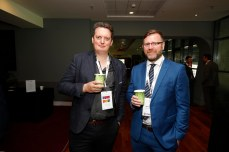 Aidan Roth from Circle Housing Association and Shane Hynes from McGovern Surveyors