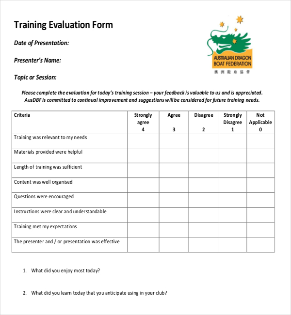 Use a feedback survey template so you can give out a document that your clients can answer based on how they feel about your services and offers. Ms Word Training Feedback Survey Template In Pdf Survey Templates And Worksheets