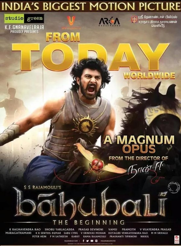 Baahubali Movie Review Survi Rating First on Net