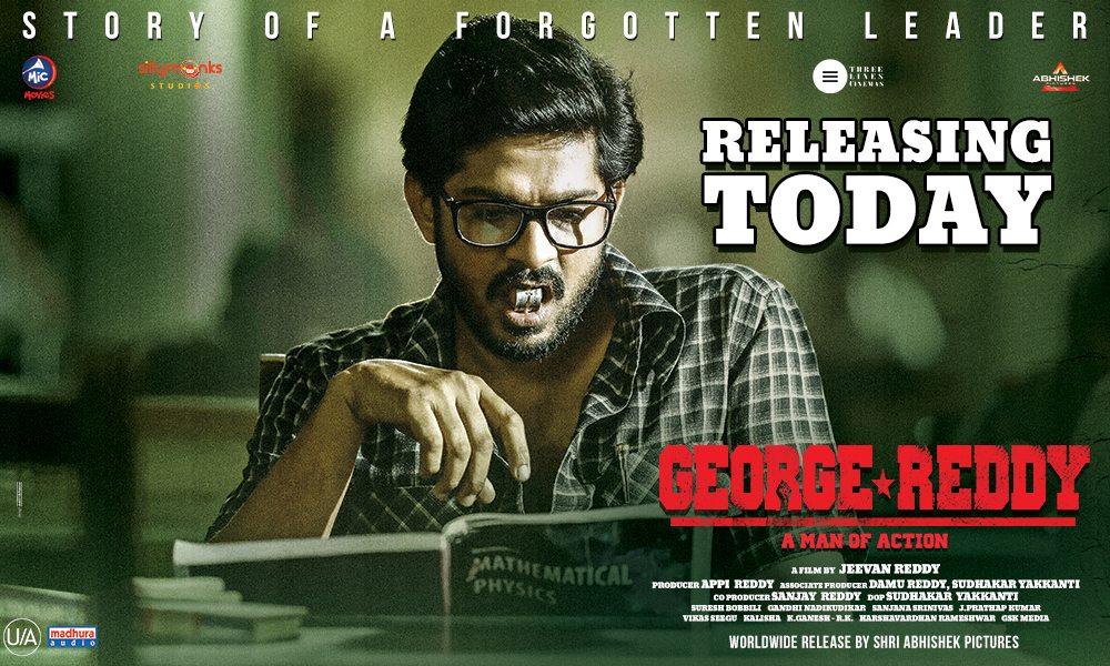 George Reddy Review Survi Telugu Tamil Osmania