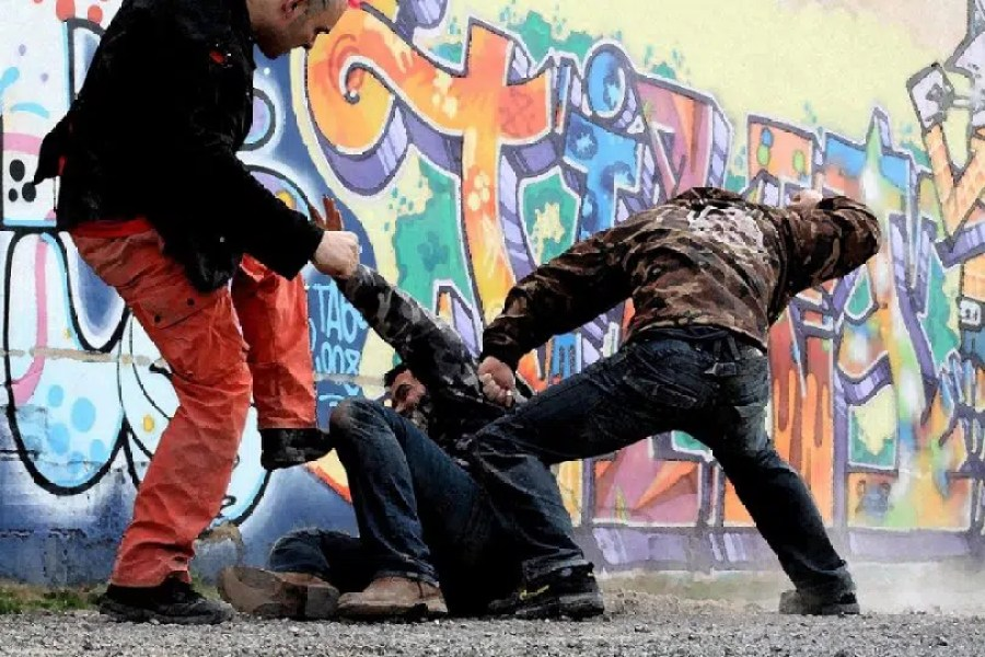 Se battre dans la rue
