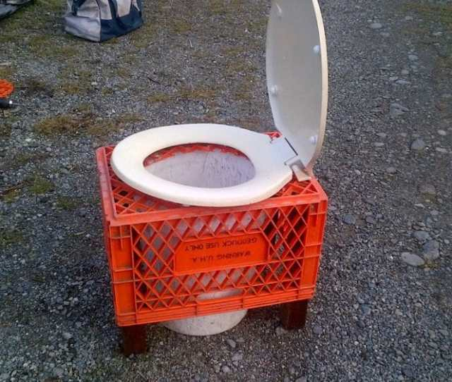 Diy Camping Toilet Making