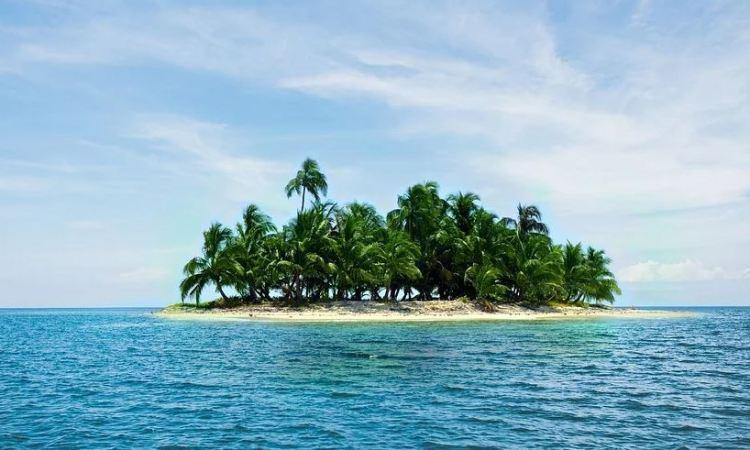 auf einer einsamen Insel überleben