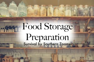food storage preparation