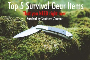 top 5 survival gear items