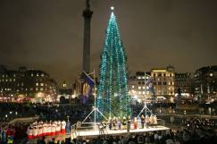 Official welcoming of the Christmas season! --Photo from London Evening Standard