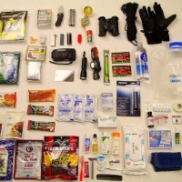 Survival Bros Tsunami Preparedness Go Bag Items Photo