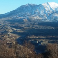 Mount St. Helens from Elk Rock and Castle Lake Viewpoints