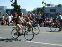 Naked Bikers in Seattle, WA