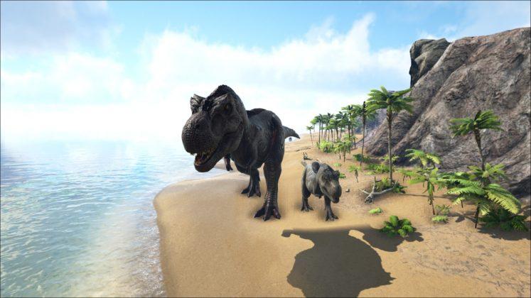 Ark Survival Evolved  Giant Dinos Mod Gro Grer am