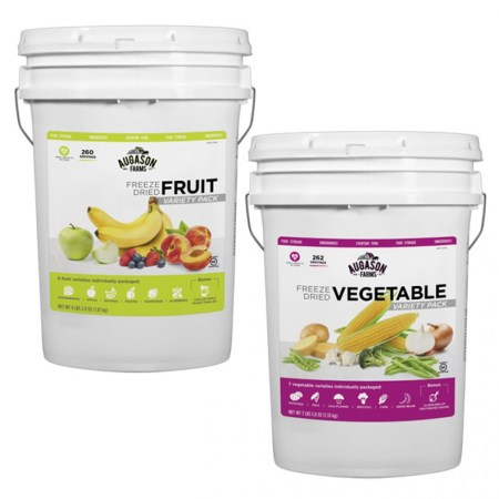 Freeze Dried Fruit and Vegetable Pack