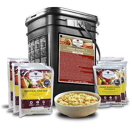 Wise 120 Servings Entree Bucket of Long Term Survival Food
