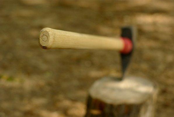 Best survival axe - wood handle