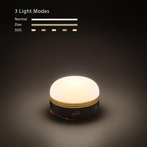 Hihill MiniLEDCampinglampe 3W mit USBAnschluss