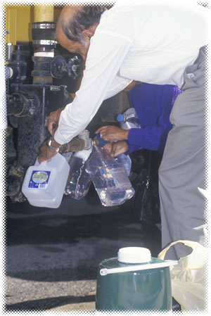 Water needs for blackout blackout preparedness
