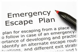 Escape plan list