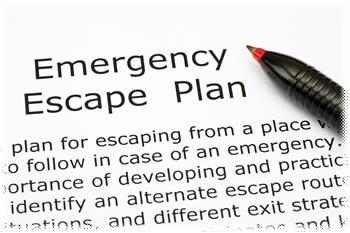 Escape plan list