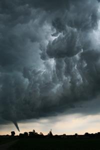 Tornado as a catastrophe