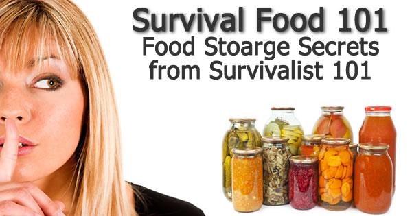 Survival Food Storage 101