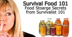 Survival Food Storage 101