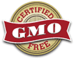 Legacy Food Storage certified GMO free.