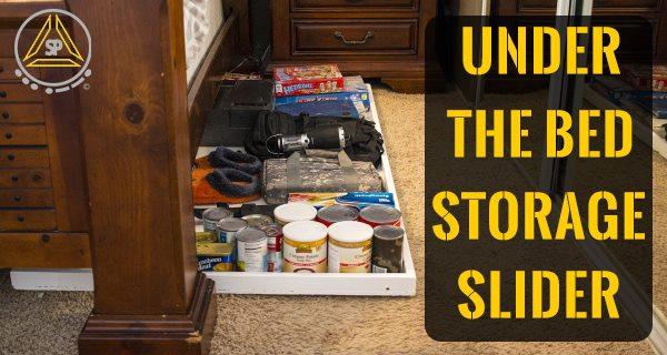 DIY Under The Bed Easy Access Storage Slider