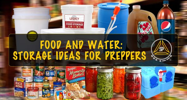 Long Term Food Water Storage Ideas for Preppers