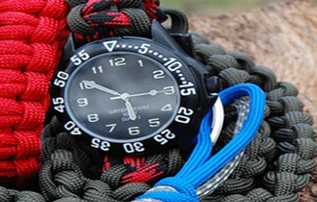 DIY Paracord Watchband | Cool Survival DIY Ideas