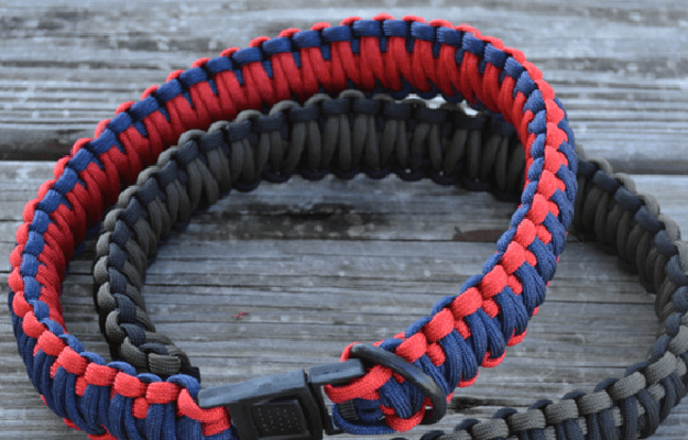How To Make a Paracord Dog Collar   Cool Paracord Projects
