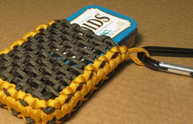 Cool DIY Paracord Ideas | Paracord Pouch