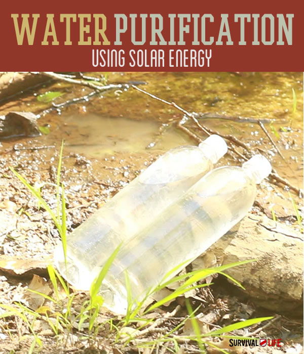Water Purification System: The Solar Water Disinfection (SODIS) | https://survivallife.com/water-purification-system/