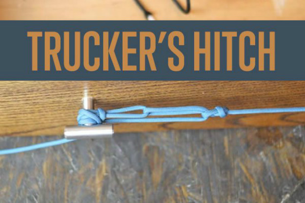 The Trucker's Hitch | Paracord Knots and Hitches | How To Make Paracord Hitches | paracord lanyard knots