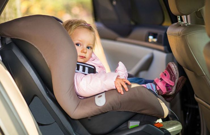 Child in a car | Everyday Uses For Your Emergency Survival Kit