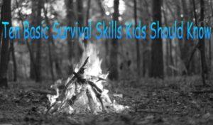 survival skills for kids